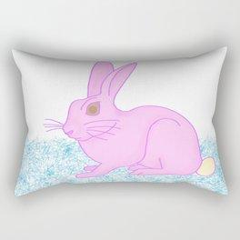 Ice cream rabbit Rectangular Pillow