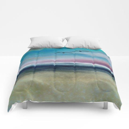 Ocean Landscape Comforters