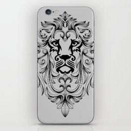Heraldic Lion Head iPhone Skin