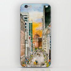 San Francisco at Dusk iPhone & iPod Skin