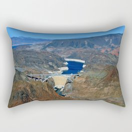 Hoover Dam Pat Tillman Bridge Arizona Nevada America Rectangular Pillow