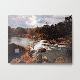 Marble Creek Metal Print