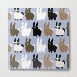 Bunch of bunnies Metal Print