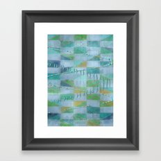 A Light Summer Rain Framed Art Print