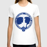 river song T-shirts featuring Doctor Who pals: The 10th doctor & River Song by logoloco