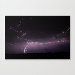Exploding Sky Canvas Print