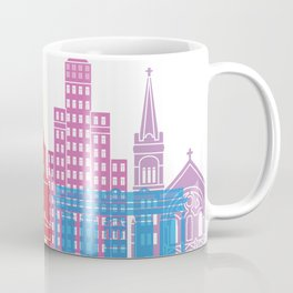 El Paso V2 skyline pop Coffee Mug