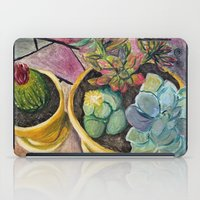 cacti iPad Cases featuring Cacti by Emily Kenney