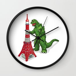 Tokyo Godzilla Wall Clock