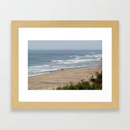 Cape Cod Beach Framed Art Print
