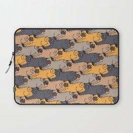 Pugs Tessellations Laptop Sleeve