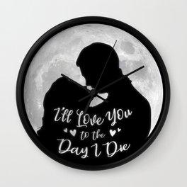 It's a Wonderful Life - Love Wall Clock