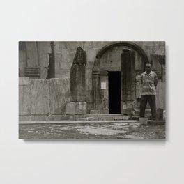 CHURCH GUARD-ARMENIA Metal Print