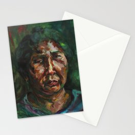 Yohanna: Portrait of a Palm Oil Worker Stationery Cards