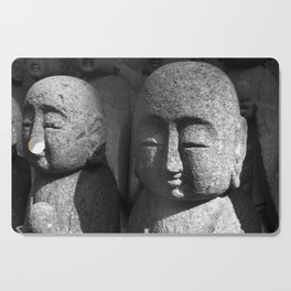 Japanese Temple Statues Cutting Board