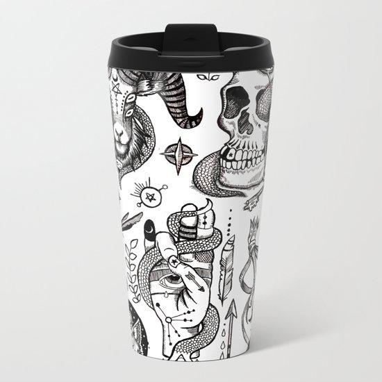 Lesser Alchemy Metal Travel Mug