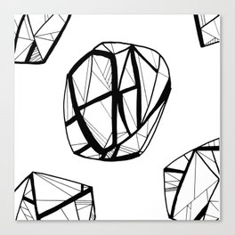 STRUCTURAL ORBES Canvas Print