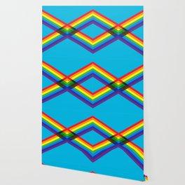 crossing rainbows Wallpaper