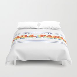 Full Panic - In Rainbow Duvet Cover