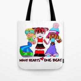 Beat Girlz Tote Bag