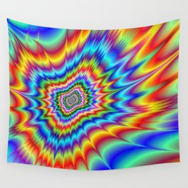 Blasted into Orbit Wall Tapestry