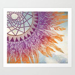 dreamcatcher: mining for the meaning Art Print