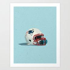 NFL Contracts Art Print