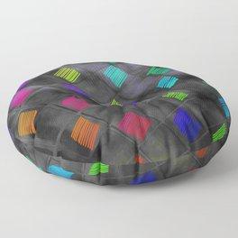 Square Color Floor Pillow