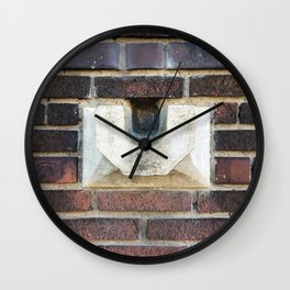 Old Waterspout Wall Clock