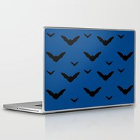 bats Laptop & iPad Skins featuring Bats by Jessica Slater Design & Illustration