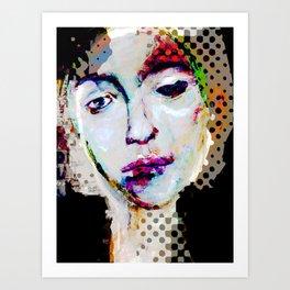 MOUSSELINE Art Print