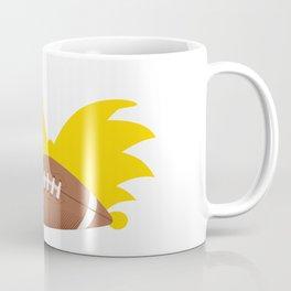 Football Head Coffee Mug