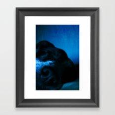 Snooze2 Framed Art Print