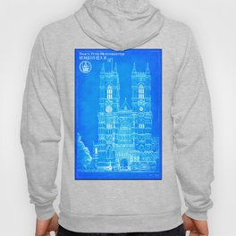 Westminster Abbey Architecture - Gothic Blueprints  Hoody