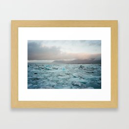 Ice Ice Baby 2 Framed Art Print