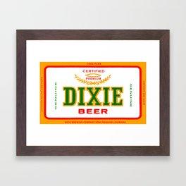 DIXIE BEER OF NEW ORLEANS Framed Art Print