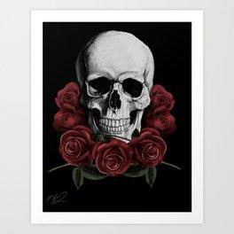BOUQUET OF DEATH Art Print