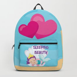 Our little Mermaid the sleeping beauty Backpack