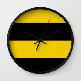 Flag of Workum Wall Clock