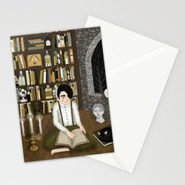 october library Stationery Cards