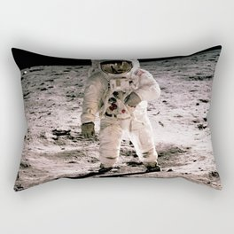 The Moon Landing Rectangular Pillow