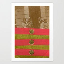 The Golden Family Art Print
