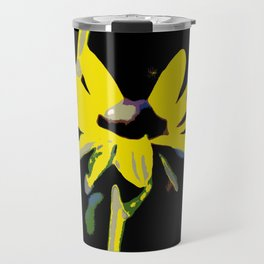 Yellow Daisy Travel Mug