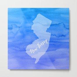 Sweet Home New Jersey Metal Print