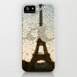 peace in paris iPhone Case