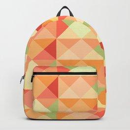 Triangles Geometric Pattern Backpack