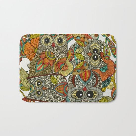 4 Owls Bath Mat