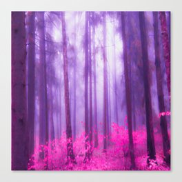 Fairy tale (Pink) Canvas Print