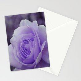 Lavender Rose 2 Stationery Cards