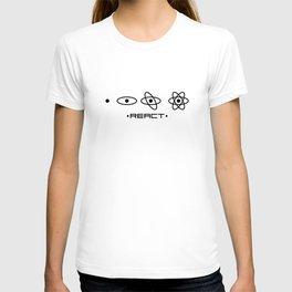 React JS unique design T-shirt